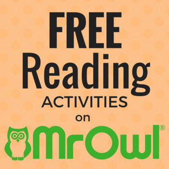 FREE Reading and Writing Activities on MrOwl