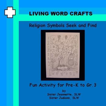 Religion Symbols Seek and Find for Pre-K to Gr. 3
