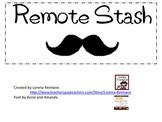 FREE Remote Stash Label