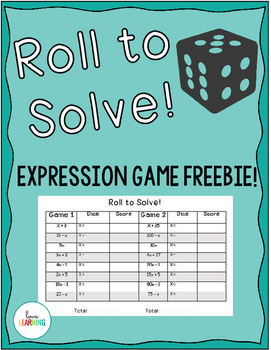 FREE Roll to Solve the Expression Partner Game