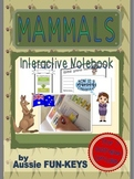 FREE SAMPLE! Mammals Interactive Notebook