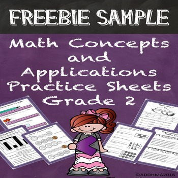 FREE SAMPLE Math Concepts & Applications Grade 2 Practice