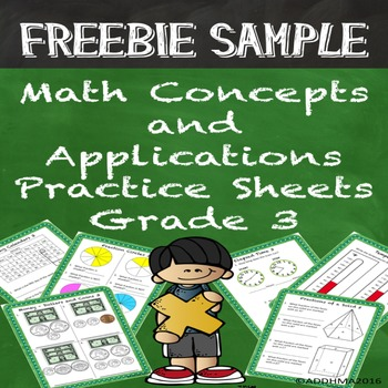FREE SAMPLE Math Concepts & Applications Grade 3 Practice