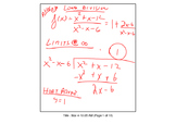 FREE SAMPLE TBS: preCalculus or Algebra 2 Chapter 3 Sectio
