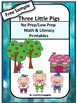FREE The Three Little Pigs Fairy Tales Unit Cut and Paste
