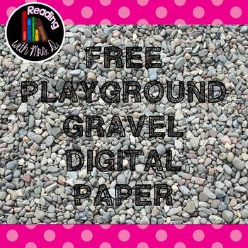FREE Schoolyard Gravel Digital Paper