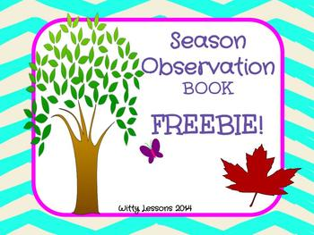 FREE Season Observation Book
