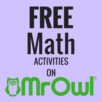FREE Second Grade Math Activities on MrOwl