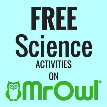 FREE Second Grade Science Activities on MrOwl