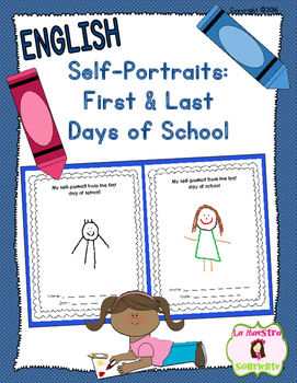 Self Portrait Pages FREEBIE: Beginning and End of the Scho