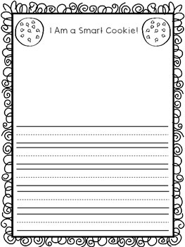 FREE~ Smart Cookie Writing Paper
