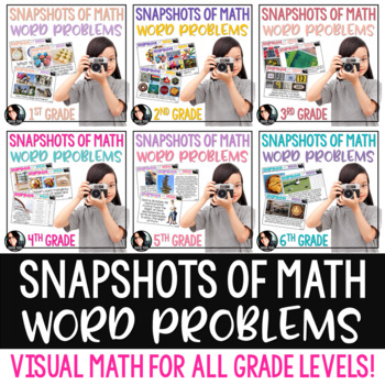 FREE Snapshots of Math Word Problems SAMPLER FREEBIE Using