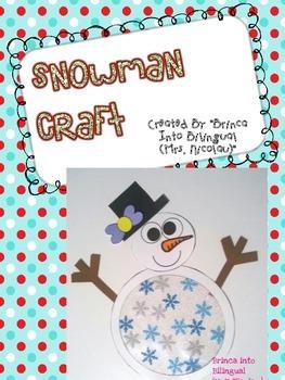 FREE Snowman Craft