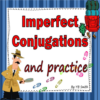 Spanish Imperfect Conjugations Notes and Practice Powerpoi