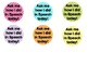 FREE Speech Therapy achievement buttons
