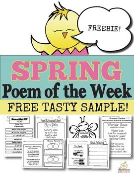 FREE Spring Poem of the Week (One Week Sample)