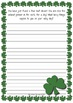 {FREE} St Patrick's Day Writing Prompt Worksheets