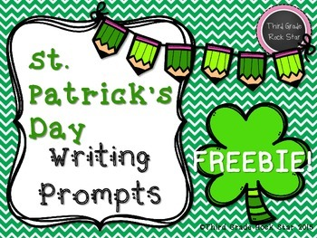*FREE* St. Patrick's Day Writing Prompts