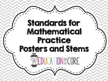 Standards for Mathematical Practice
