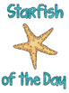 FREE Starfish of the Day or Week Chart
