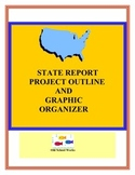 State Report Project Outline and Graphic Organizer