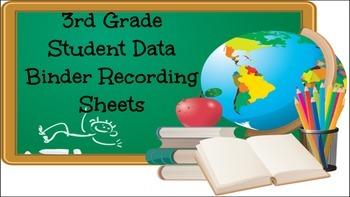 FREE Student Data Binder Graphs