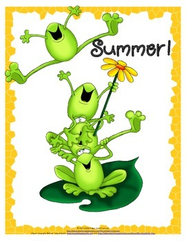 FREE Summer Poster from Speech Sprouts