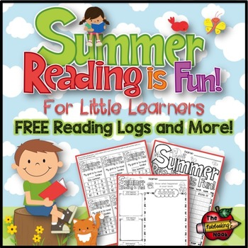 FREE Summer Reading Logs and Incentives!