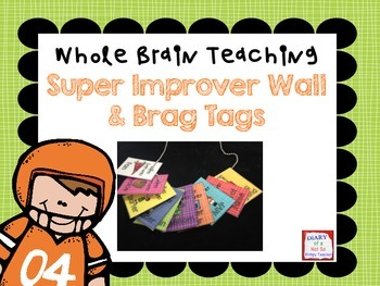 FREE Super Improver Wall and Brag Tags