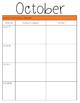 Teacher Organization Binder Materials FREEBIE