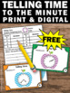 FREE Telling Time Task Cards Math Center Games & Activitie