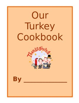 FREE Thanksgiving Class Cookbook Printable Cover