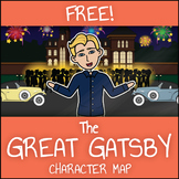 FREE The Great Gatsby Character Map Printable Worksheet