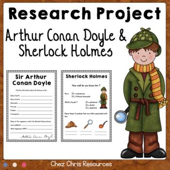 FREE - Learn about Arthur Conan Doyle - Sherlock Holmes - Step 1