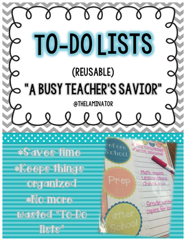 Lots To-Do Lists