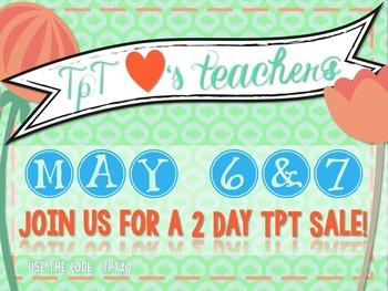 FREE TpT Loves Teachers Sale Button {Appleslices}