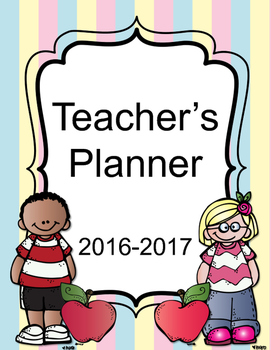 FREE VERSION Teacher Binder Survival Planner