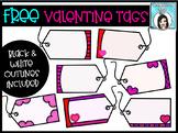 FREE Valentine Gift Tags Clip Art Set