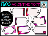 FREE Valentine Gift Tags Clip Art Set