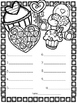 FREE Valentine's Day Coloring & Spell Spelling Test Template