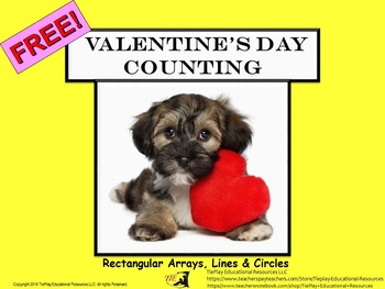 FREE Valentine's Day Counting