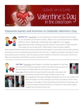 FREE Valentine's Day Games and Activities