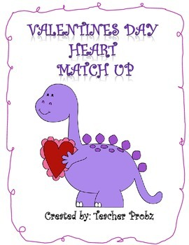 FREE Valentines Day Heart Match Up