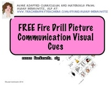 FREE Visual Cues for Fire Drills for Autism Special Educat