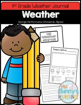 FREE Weather Journal (1st Grade)