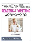 FREE Webinar Workbook: Managing Best Practice Reading and
