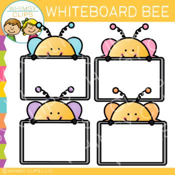 FREE Whiteboard Bee Clip Art