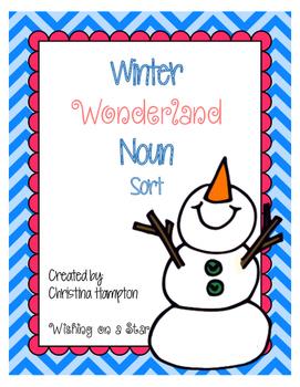 Winter Wonderland Noun Sort
