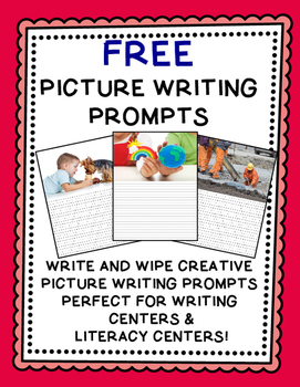FREE Writing Prompts {One Week of FREE Picture Writing Prompts!}