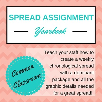 FREE Yearbook Spread Assignment